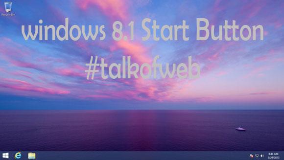 Windows 8.1 with start Menu