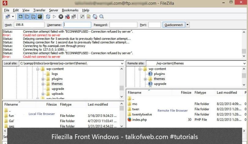 FileZilla Windows