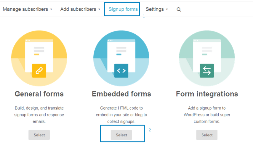 10- Publicizing the email susbcription form to gain more email subscribers
