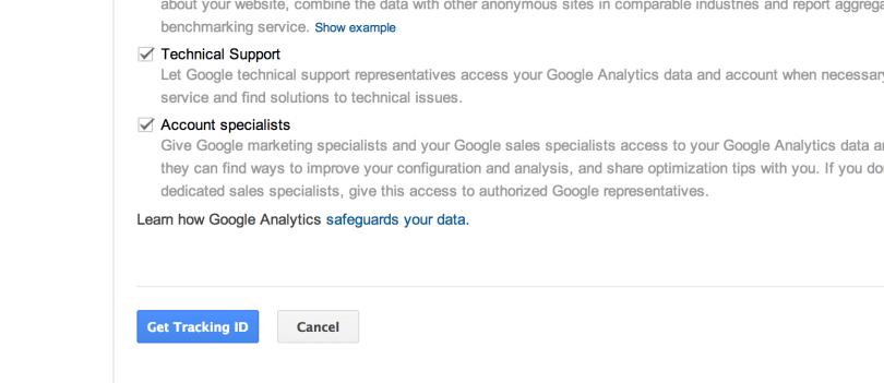 3- Add property in Google Analytics