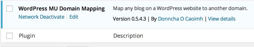 Network Activate WordPress Multisite Plugin