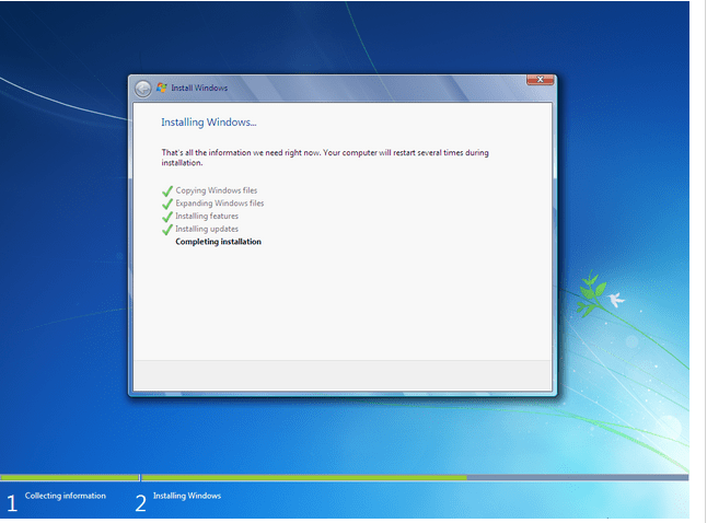 how to install windows 7 - 13