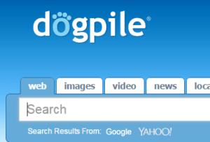 search engine - dogpile