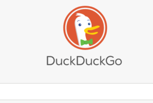search engine - duck duck go