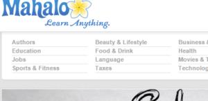 search engine - mahalo