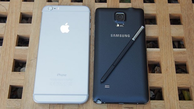 iphone 6 plus vs note 4 - opening