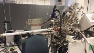 XPS equipment, 4D Labs. Image: E. Rickert