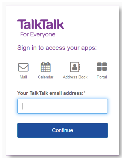 Talktalk Email Login