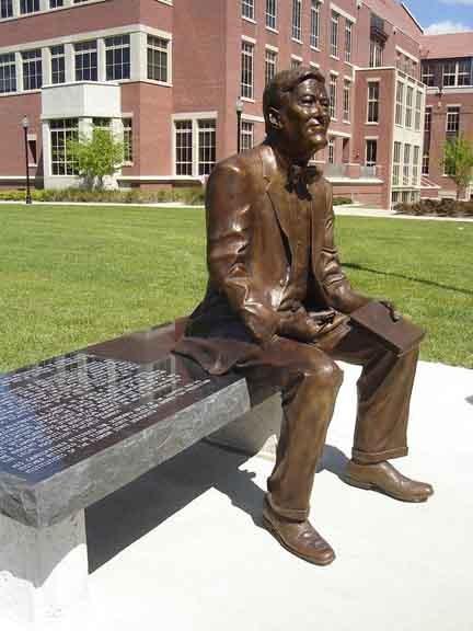 President Sandy D Alemberte Statue Tallahassee Arts Guide