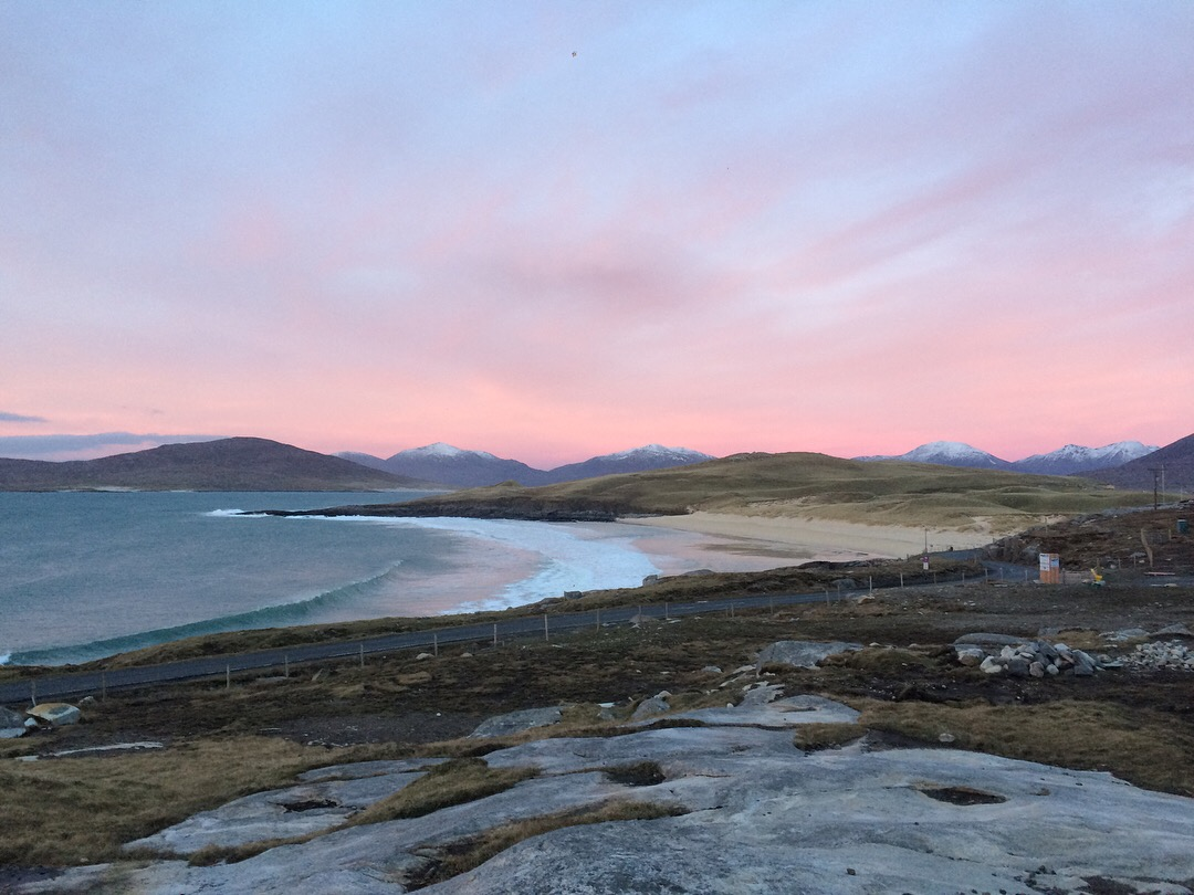 Outer Hebrides winter
