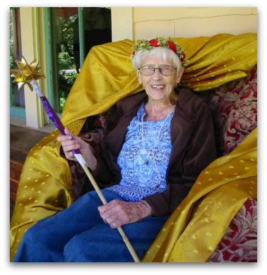 Granny's Birthday Throne