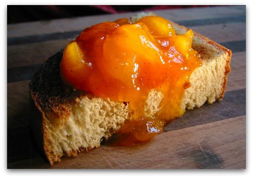 best apricot jam on toast