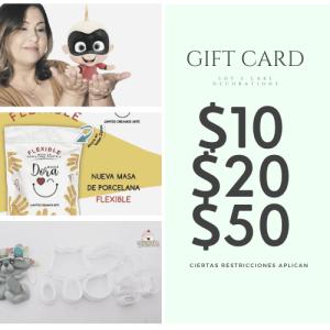 Gift Cards(Tarjetas de Regalos)