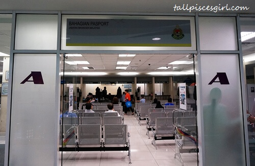 Renew Malaysian Passport - Room A for Passport Related Matters