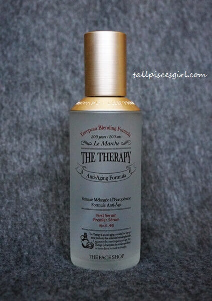How to Recover from Dry Winter Skin #2: THE FACE SHOP The Therapy First Serum