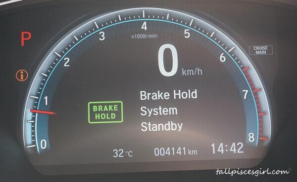 Brake Hold System Standby