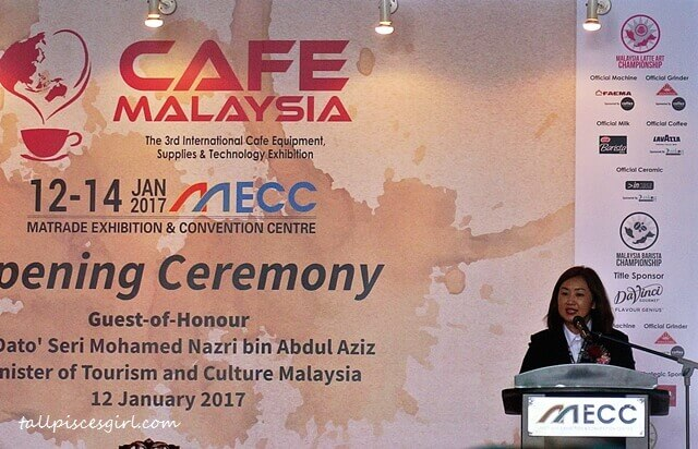 Ms Yip Leong Sum, President of Malaysia Specialty Coffee Association