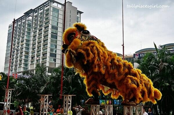 Lion Dance @ Pearl International Hotel Kuala Lumpur