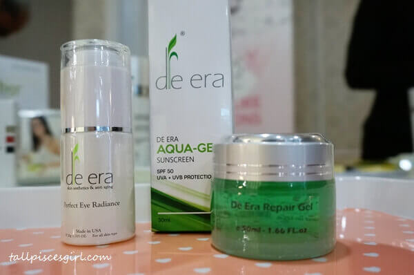 De Era Beauty Products Range