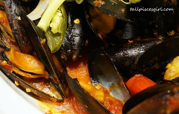 Mussel Cooked Berlada Style