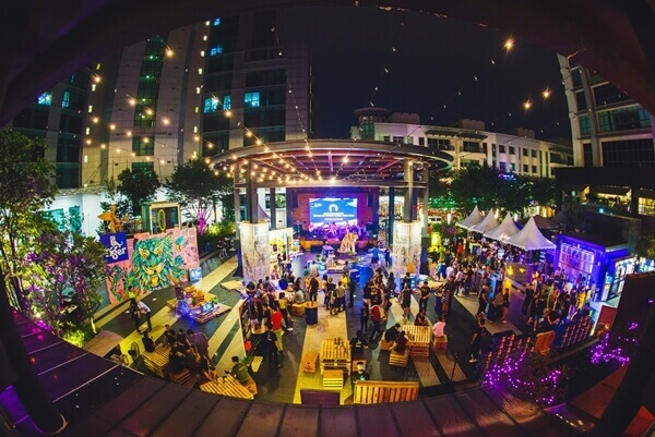 Wideshot of The Square, Publika during 3890Tigers campaign finale on Global Tiger Day