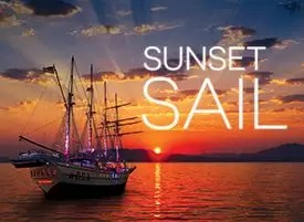 sunset sail royal albatross