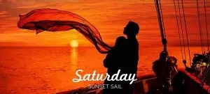 saturday sunset sail royal albatross
