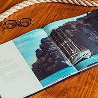 gift book with glasses on side royal albatross