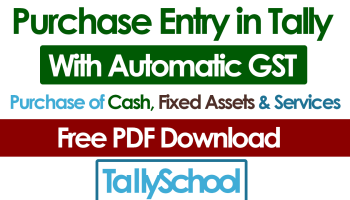 How to create Sales and Purchase Vouchers in Tally
