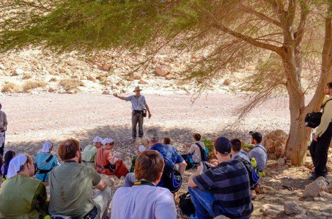 Hiking isn't all we do! Inspiring teaching and great discussions happen at nearly every site. Connections to the biblical stories that happened right around you will open your eyes to a fresh, new dimension of understanding the Bible.