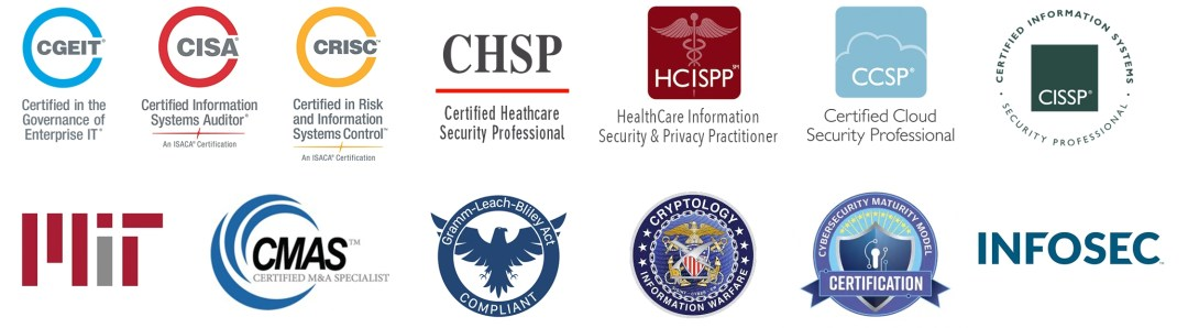 Logos-of-High-Level-Cyber-Security-Certifications-Compliance-CHSP-CISSP