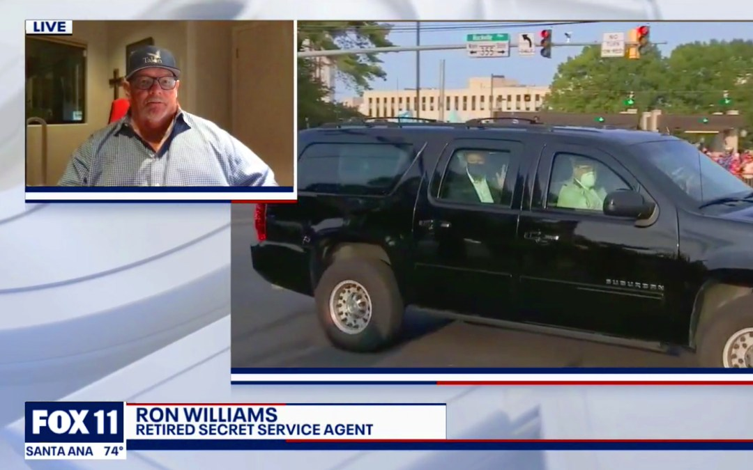 Talon CEO Ron Williams Consults Fox 11 News on Protecting the President