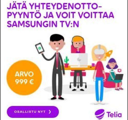 Photo of Telian Kilpailu – Voita Samsung 65″ Smart TV
