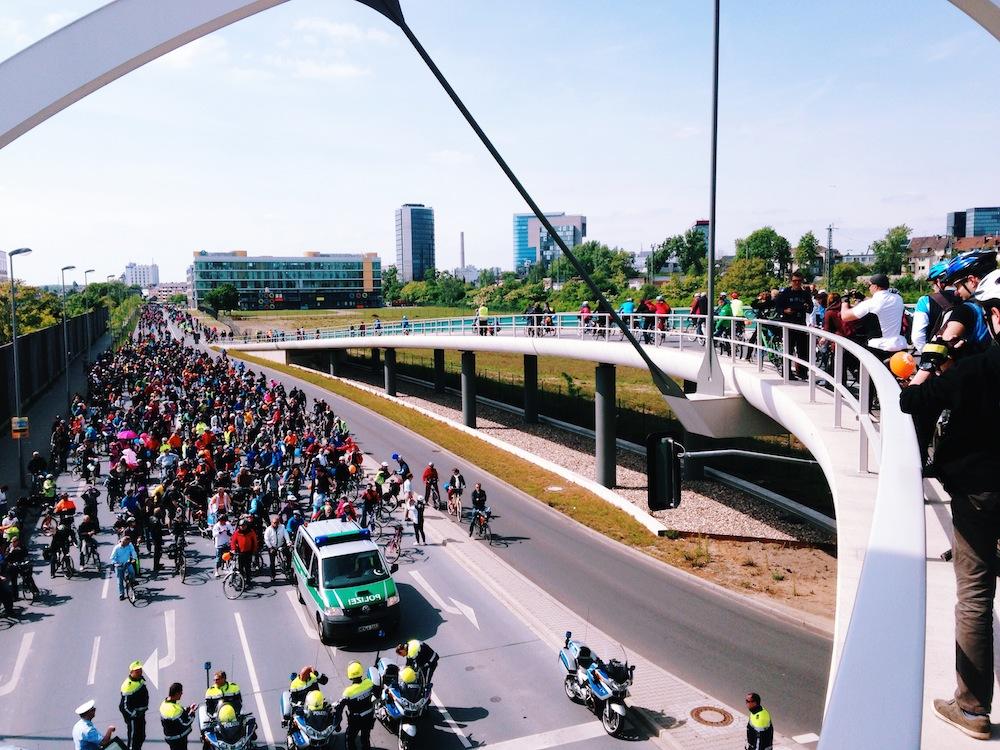 7.500 Teilnehmer bei Fahrradsternfahrt