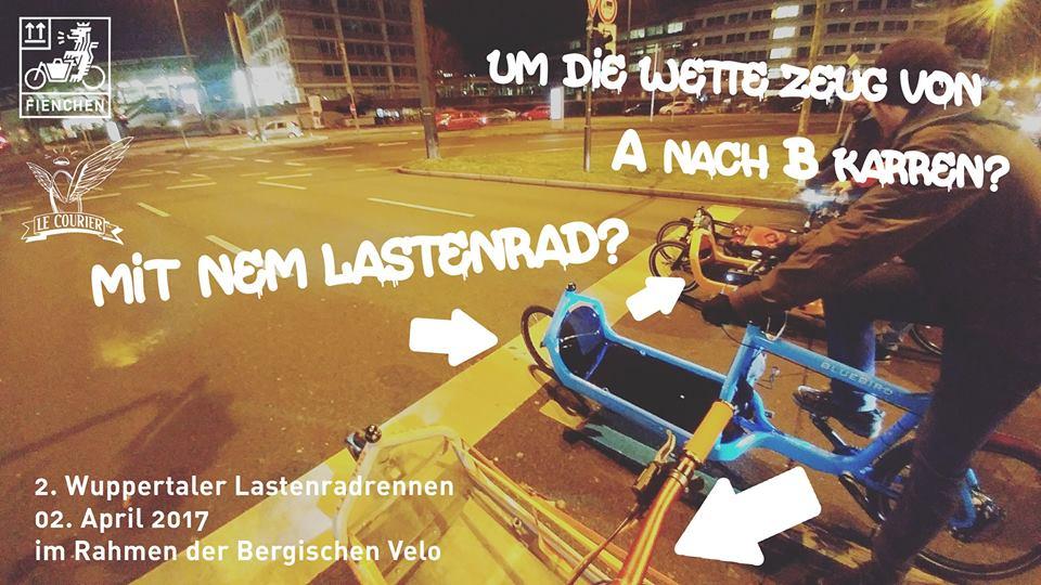 Bergische Velo: 2. Wuppertaler Lastenrad-Rennen