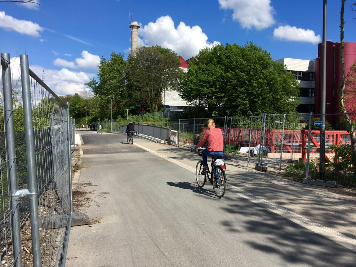 NBT: Brücke Max-Planck-Straße freigegeben