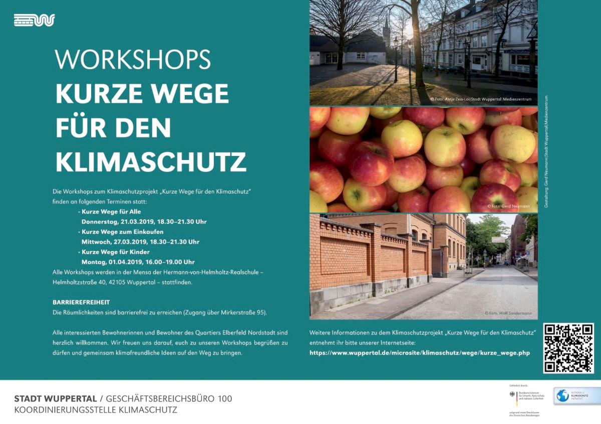 Kurze Wege: Erster Workshop in dieser Woche
