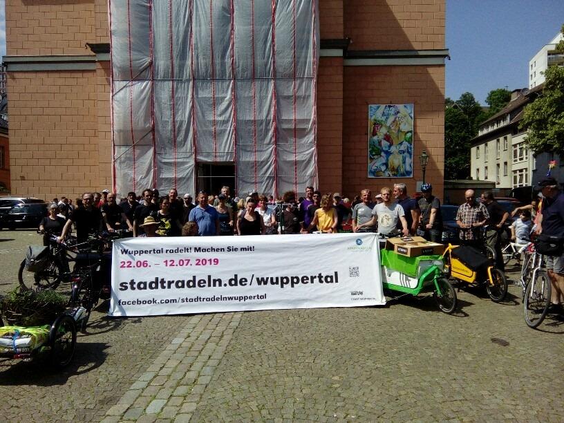 Stadtradeln Wuppertal gestartet
