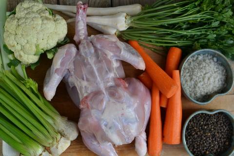 עוד כמה שעות יהיה פה מרק עוף מושלם