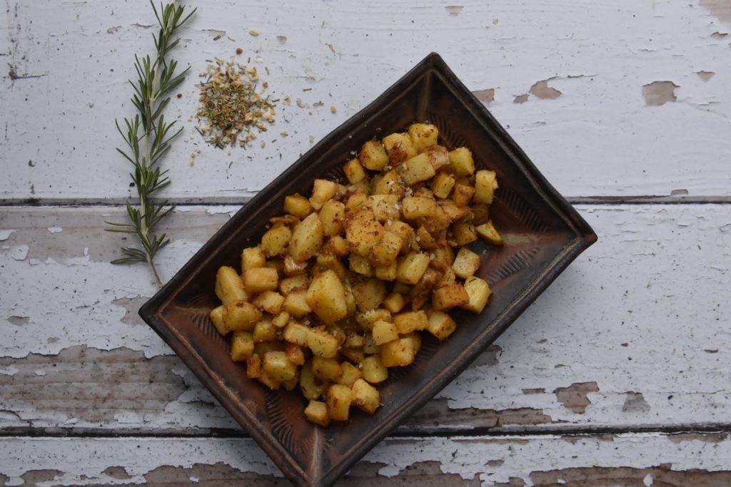 קוביות תפוחי אדמה