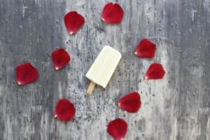 גלידת יוגורט וגבינת עיזים