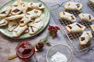עוגיות ריבה עם בצק מסקרפונה