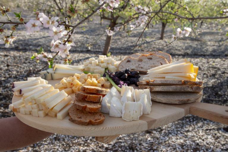 מגש גבינות של משק יעקבס