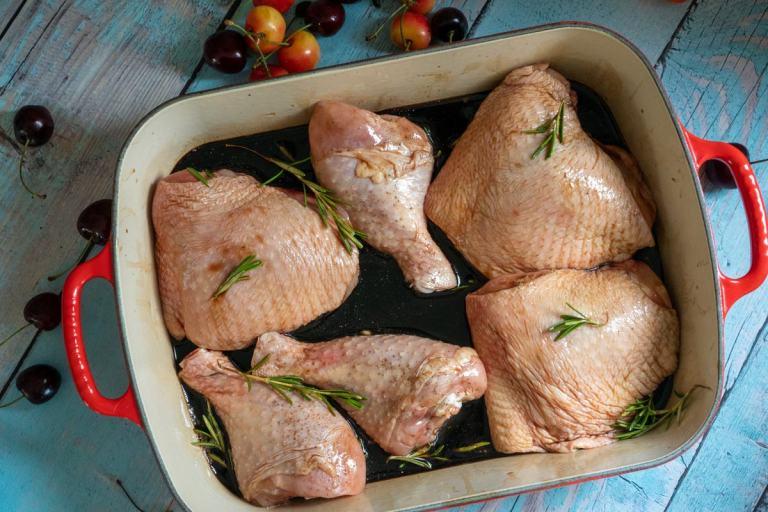 עוף צלוי בתנור