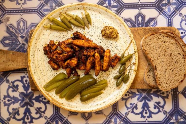 חזה עוף צרוב בקראסט תבלינים