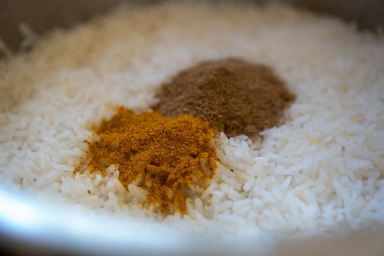 בישול האורז