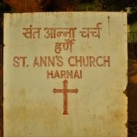 Saint Ann's Church, Harnai