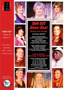 Plakat TAM OST DISCO-BOOT 2015/2016