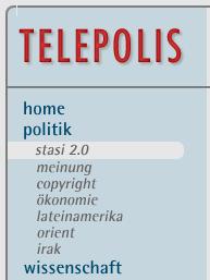 Politik/Stasi 2.0