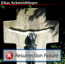 Das Cover von Resurrection Failure